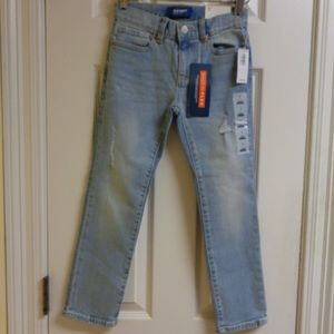 Old Navy Distressed Skinny Jeans